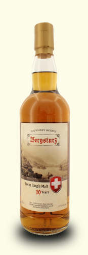 Bergsturz Swiss Single Malt 10 Years Z'Graggen, Lauerz 40% Vol. 70cl