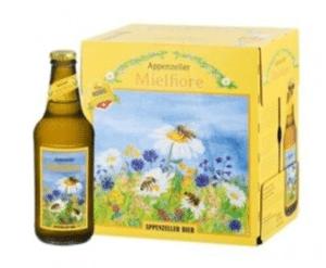Appenzeller Honigbier Mielfiore 4,6% Vol. 6 x 33 cl EW Flasche