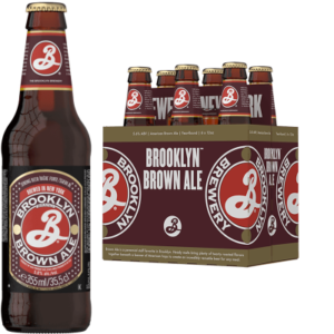 BROOKLYN Brown Ale Bier 5,6% Vol. 24 x 35,5 cl EW Flasche