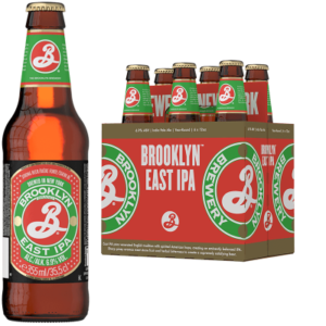 BROOKLYN East Indian Pale Ale 5% Vol. 24 x 35,5 cl EW Flasche