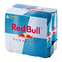 Red Bull Sugarfree Energy 6 x 25 cl Dose