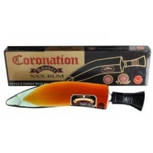 Coronation Khukri Rum 42,8% Vol. 35 cl ( zur Zeit nicht lieferbar )