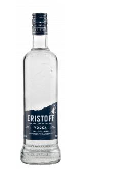 Vodka Eristoff weiss 37,5% Vol. 70 cl Russland