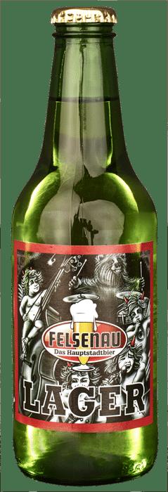 Felsenau Lager Bier 4,8% Vol. 10 x 33 cl EW Flasche
