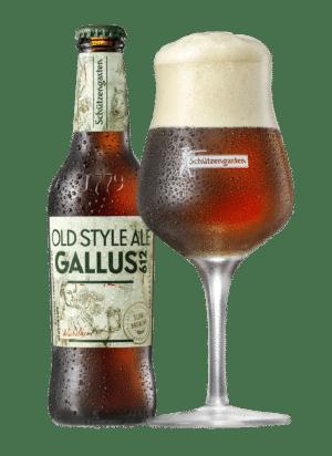 Schützengarten Gallus 612 - Old Style Ale 5,6% Vol. 10 x 33 cl EW Flasche