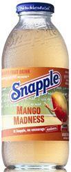 Snapple Frui Drink Mango 12 x 47,3 cl EW Glas