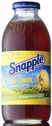 Snapple Lucky Lemon Ice Tea 12 x 47,3 cl EW Glas