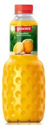 Granini Reiner Orangensaft ohne Fruchtfleisch 6 x 100 cl PET