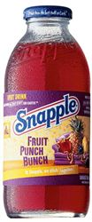 Snapple Fruit Punch 12 x 47,3 cl EW Glas