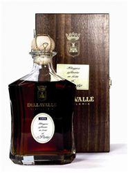 Grappa Dellavalle Portwood 43% Vol. 70 cl mit Holzkistchen