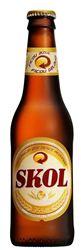Skol Brasilianisches Bier 24 x 33 cl EW Flasche