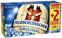 Feldschlösschen Original 4,8% Vol. 10 + 2 gratis 33 cl EW Flasche