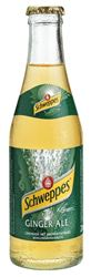 Schweppes Ginger Ale 30 x 20 cl MW Flasche