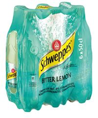 Schweppes Bitter Lemon 6 x 50 cl Pet