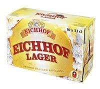 Eichhof Lager 4,8% Vol 10 x 33 cl EW Flasche