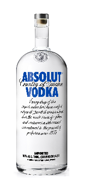 Absolut Vodka 40% Vol. 450 cl Schweden