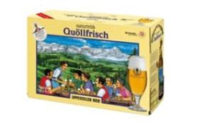 Appenzeller Quöllfrisch naturtrüeb 10 x 33 cl EW Flasche