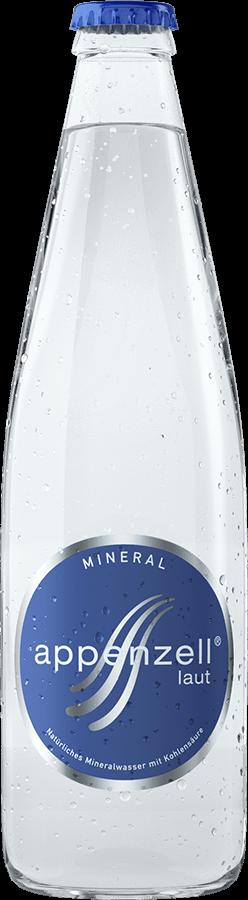 Appenzell Mineral laut mit Kohlensäure 24 x 33 cl MW Flasche
