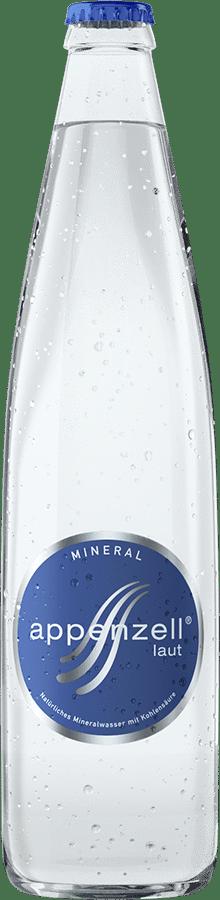 Appenzell Mineral laut mit Kohlensäure, 20 x 50 cl MW Flasche