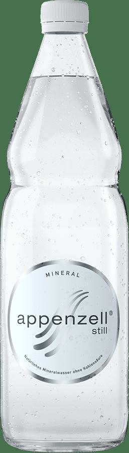 Appenzell Mineral still weiss ohne Kohlensäure 12 x 100 cl MW Flasche