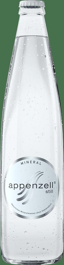 Appenzell Mineral still, weiss ohne Kohlensäure, 20 x 50 cl MW Flasche