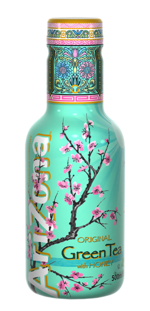 AriZona Green Tea with Honey 6 x 50 cl PET