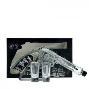 Hijos de Villa Tequila Blanco Silver im Set mit zwei Shotgläsern 40% Vol. 20cl