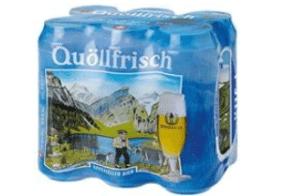Appenzeller Quöllfrisch Hell 6 x 50 cl Dose
