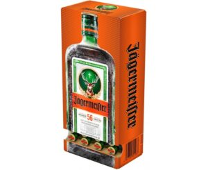 Jägermeister 35% Vol. 60 x 2 cl