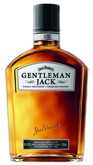 Jack Daniel's Tennessee Whiskey Gentleman Jack 40% Vol. 70 cl