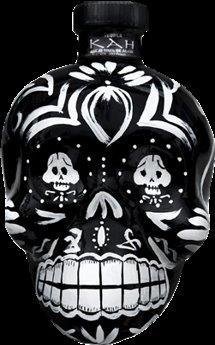 KAH Tequila Anejo 40% Vol. 70 cl Skullflasche Mexiko