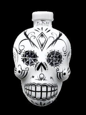 KAH Tequila Blanco 40% Vol. 70 cl Skullflasche Mexiko