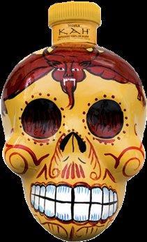 KAH Tequila Reposado 40% Vol. 70 cl Skullflasche Mexiko