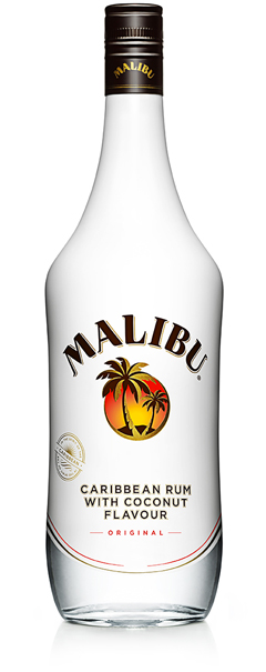 Malibu Tropical Coconut Original 24% Vol. 70 cl Barbados