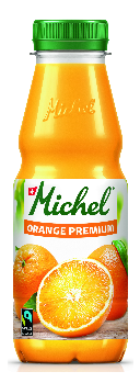 Michel Orange Premium Fairtrade 6 x 33 cl Pet