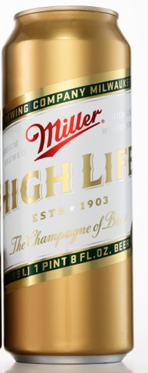 Miller High Life Champagne of Beer 4,7% Vol. 6 x 94,6cl Dose