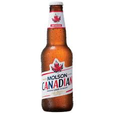 Molson Lager Beer 5% Vol. 33 cl EW Flasche Canadian