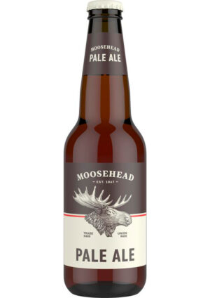 Moosehead Pale Ale 5% Vol. 24 x 35 cl EW Flasche Canadian