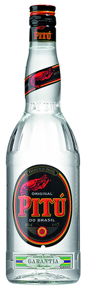 Cachaça Pitu do Brasil Zuckerrohrbranntwein 40% Vol. 70 cl