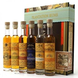 Rum Plantation CIGAR BOX  6er-Packung 10 cl
