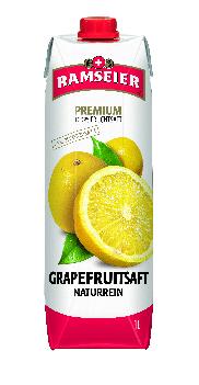 Ramseier Premium 100% Grapefruitsaft Prisma 12 x 100 cl Tetra