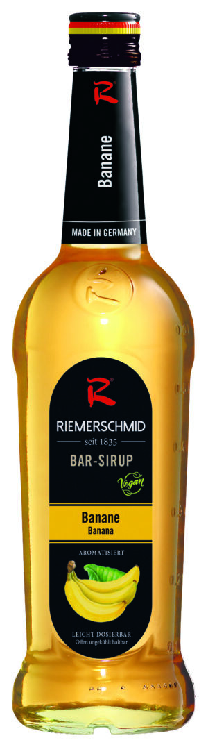 Riemerschmid Sirup Banana-Barsyrup 70 cl