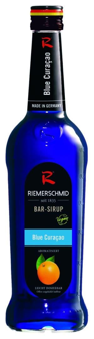 Riemerschmid Sirup Curaçao Blue Barsyrup 70 cl