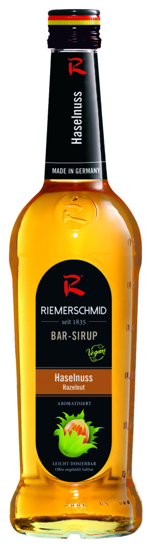 Riemerschmid Sirup Hazelnut Barsyrup 70 cl