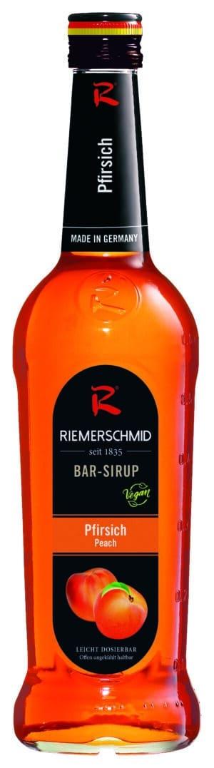 Riemerschmid Sirup Peach / Pfirsich Barsyrup 70 cl