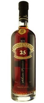 Rum Centenario 25 Años Gran Reserva Solera Costa Rica 40% Vol. 70cl ( nur solange Vorrat )