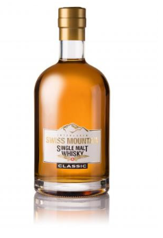 Swiss Mountain Single Malt Whisky Classic Interlaken 46% Vol. 70 cl Schweiz