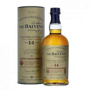 The Balvenie 14 Years Caribbean Cask Single Malt Scotch 43% Vol. 70cl