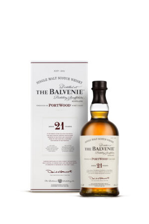 The Balvenie 21 Years Portwood Scotch Whisky 40% Vol. 70 cl