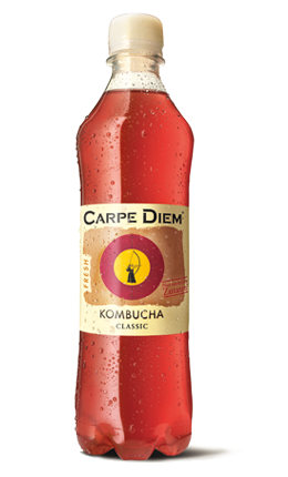 Carpe Diem Kombucha Fresh Classic 12 x 50 cl PET